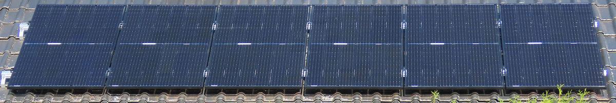 Photovoltaik in der Praxis - Südseite 1,98 kWp