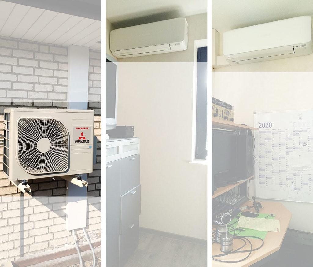 Klimaanlage für Haus und Wohnung