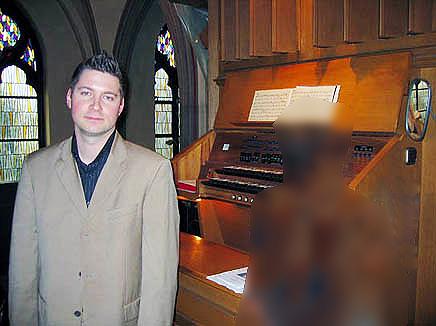 Kirchenmusiker Sebastian Handl in jungen Jahren