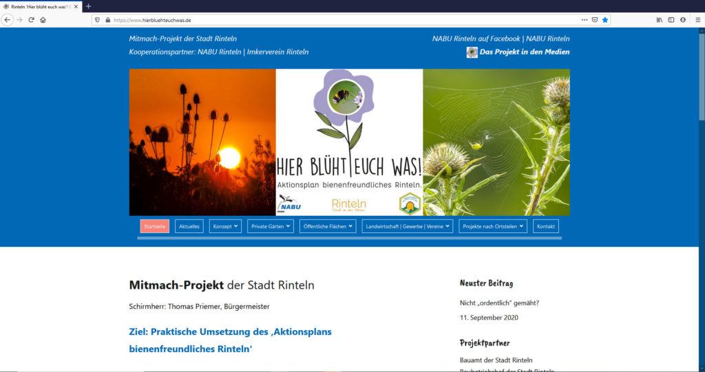 www.hierbluehteuchwas.de - Teaser