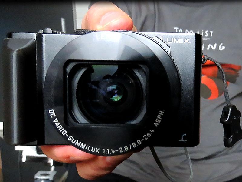 Griff für Panasonics Lumix LX15