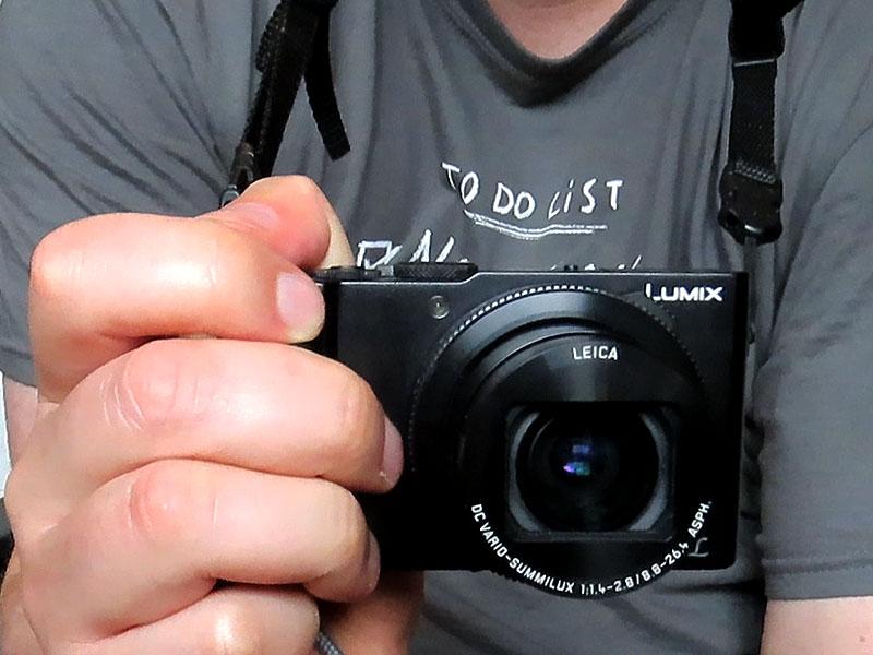 Kameragurt für Panasonics Lumix LX15